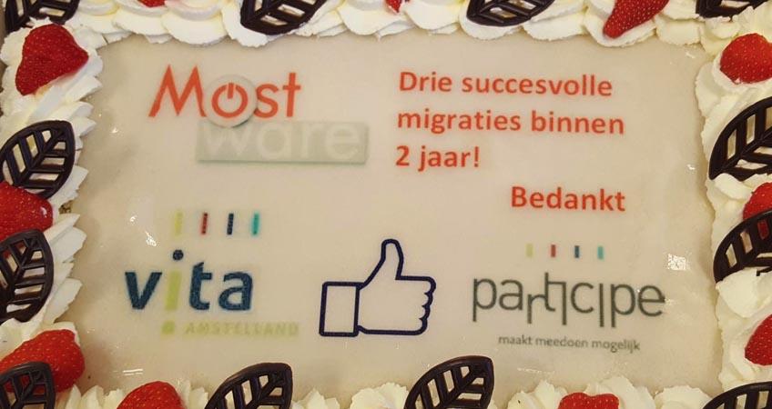 Participe Vita felicitaties