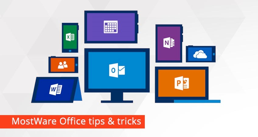 MostWare Office tips & tricks